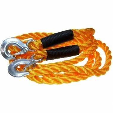 Auto sleepkabel tot 5000 kg oranje