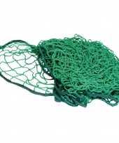Groen aanhanger aanhangwagen net met elastiek 300 x 160 cm